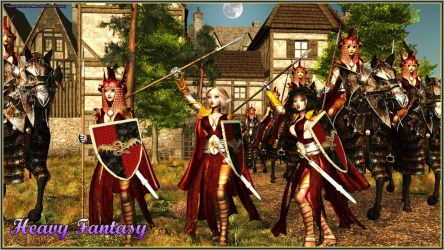 Army Of the Elves by Heavy-Fantasy