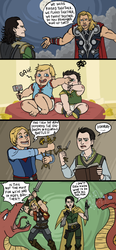 Avengers: Thnks Fr Th Mmrs by sparkyHERO