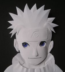 Naruto - Paper Sculpture by SewerShark