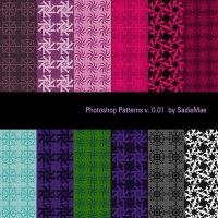 Photoshop patterns v.0.01 by SadieMae