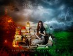 Between Heaven and Hell by TaniaART