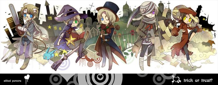 trick or treat by shirotolee