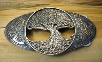 Tree Of Life Buckle by Cloud-Dragonz