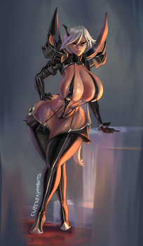 Haruka Gracia commission by cutesexyrobutts