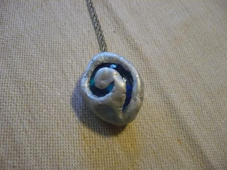 Clay Hearthstone Necklace v.2 by chibimemories