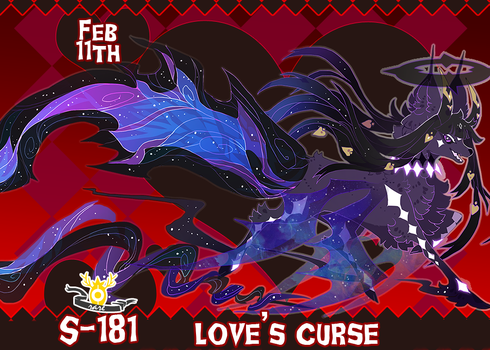{ Stygian Vday 11 } Love's Curse (Nightmare) by Zoomutt