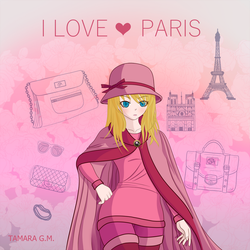 I Love Paris by tamygm21