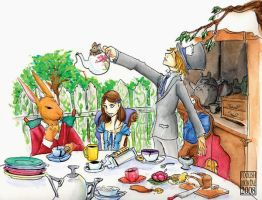 The Mad Teaparty by lissa-quon