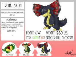 Fakemon, Trunklusion by mastergloyd