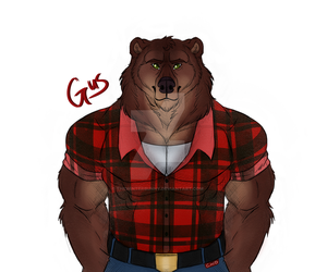 Gus Grizzmund by ChickWithDreads