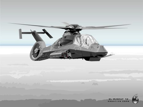 Comanche Helicopter by oblive