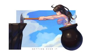 Getting over it by No1Dawn