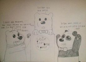 Vote For Ice Bear by Yoshitaichi