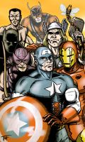 Classic Avengers by Tim4