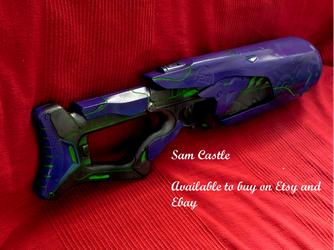 Halo covenant nerf rifle by Sam-Castle