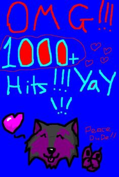 1000 hits yeah by kimberleyxtrunks