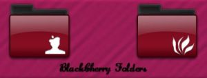 BlackCherry Folders icon by susumu-Express