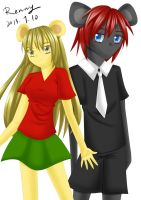 Pave and Elizabeth by Renny1998