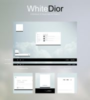 [UPDATE] WhiteDior Visual Style for Windows 8/8.1 by RidKurn