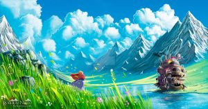 Howl's Moving Castle by Syntetyc
