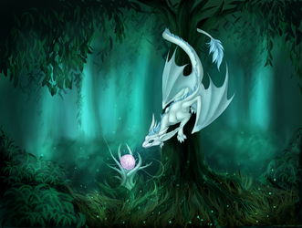 Ori and the Blind Forest by Oksara