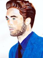 Robert Pattinson 79 by audamay
