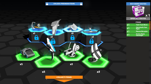 My Luck In Robocraft by glaciereagle