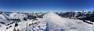 360 Degree Swiss Alps Pano by mhzdsgn