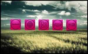 Pink Icons by damon88