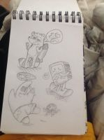 Sketches!!!! by RichHoboM3