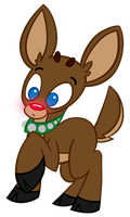 Rudolph the Red-Nosed Reindeer by pyxelexia