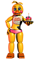 Toy Chica by LillyTheRenderer