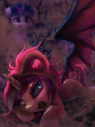 Nothing But An Itty-Bitty Demon by VanillaGhosties