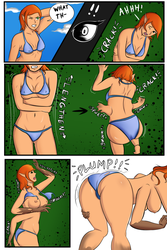GwenSpider PAGE 2/4 by CrateOfSnakes