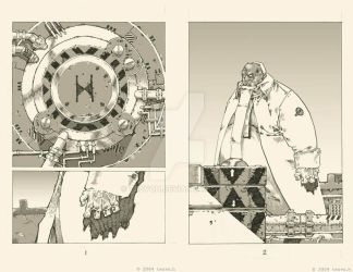 my comic pages 1-2 by TeuvoH