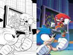 Sonic Universe 90 Variant by herms85