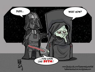 Sith happens... by scarecrowhassan