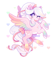 (MLP Adoptable Auction) Rainbow Rally (CLOSED) by tsurime