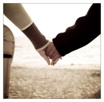 together on the sand by gedes