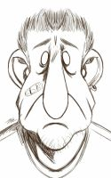 Daily Sketch: Unpleasant Dave by Hunchy