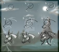 Wolf Tutorial -New version- by TripletNr2