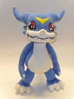 Veemon by Tia-tony