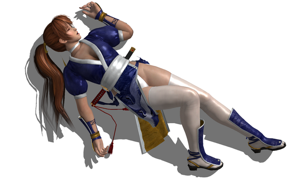 Kasumi Defeated 4 by FallenParty