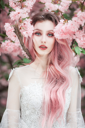 Pink blossom by thefirebomb