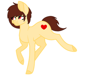 Ponified Chara - (Sorta) Revamped by Insanity-Hyde