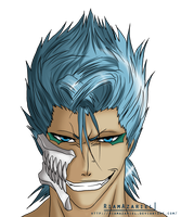 Grimmjow stare by NyRiam