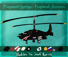 Propwash Springs: Vladislav 'the Shark' Korsak by xAcidicCanine