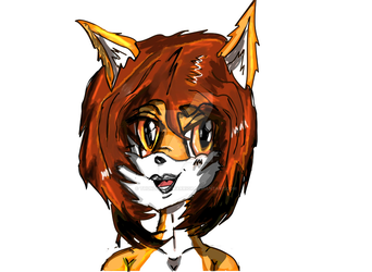 Ak girl (head shot) reynard city by thunderaxewarrior