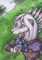 Thariel ACEO by lynxfang-art