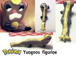 Yungoos Figurine by Sia-the-Mawile
